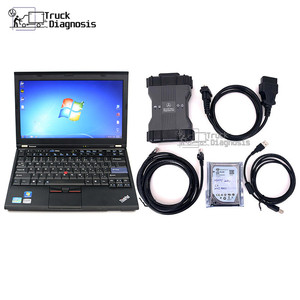 Image 1 - T420 laptop for Benz C6 VXDIAG MB STAR diagnostic tool scanner SD Connect C6 DOIP replace mb sd c4 with xentry das wis epc HDD