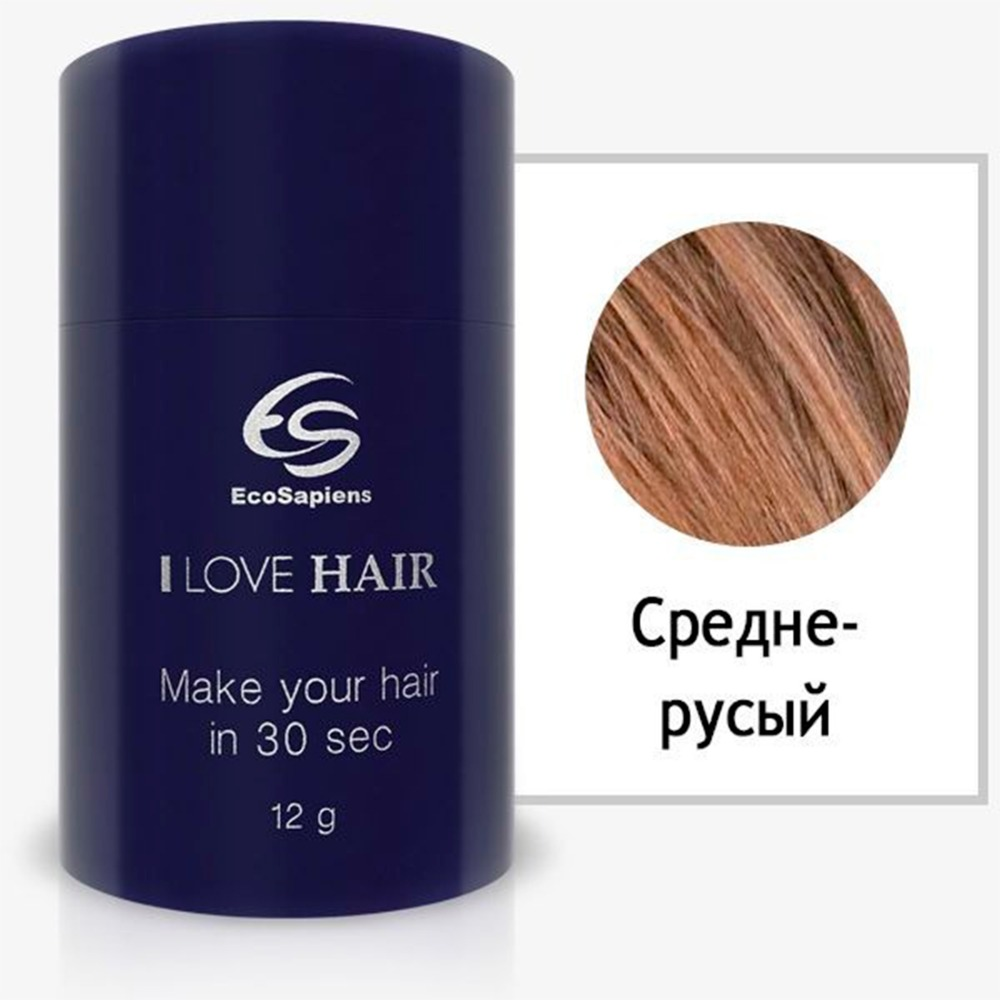 Hair thickener I love hair, hair powder, hair shadow, hair dye, hair paste, temporary dye, hair dye, hair designer Ecosapiens mymei magic women ladies hair disk clip comb hair styling tools hair accessories new
