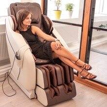 Imperial массажное кресло (бежево-коричневое),престижное массажное кресло с функцией сканирования тела, 10 автоматическими и 3 ручными программами массажа, и 3D массажем шеи и спины,Gess