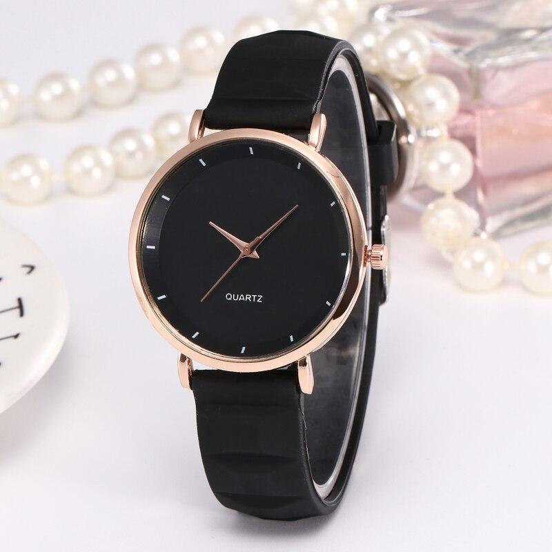 Fashion Jelly Silicone Women Watches Luxury Brand Casual Ladies Quartz Clock Wristwatches Clock Montre Femme relogio feminino