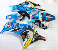 Мотоцикл Обтекатели для Kawasaki Ninja ZX10R ZX 10R 2011 2012 2013 2014 2015 Акула ABS Пластик инъекции обтекателя Кузов комплект