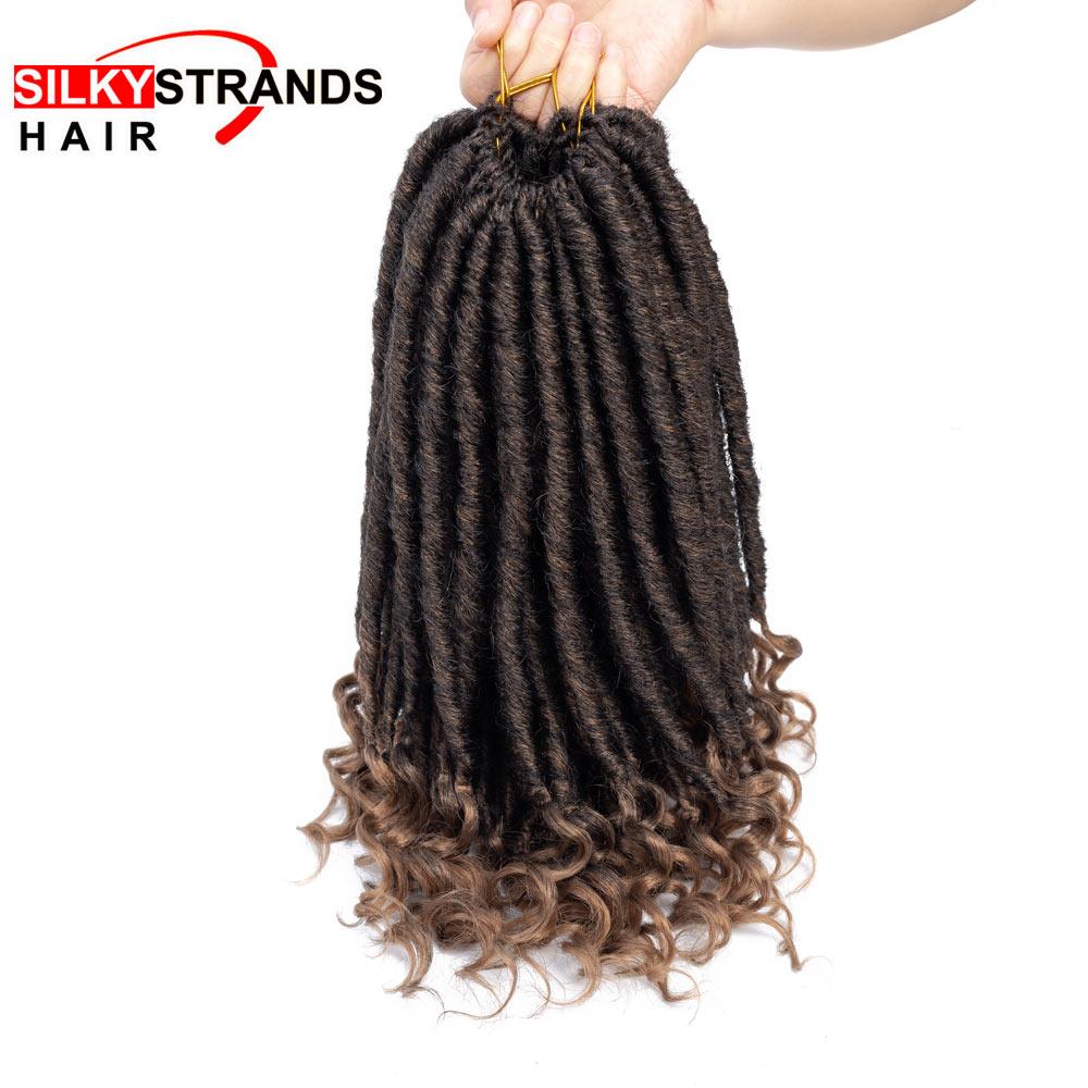 macio dreadlocks extensões de cabelo