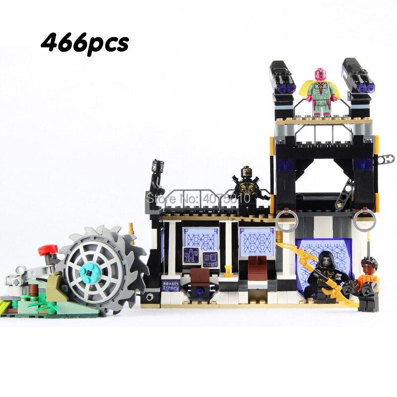 compatible legoeinglys Marvel Avengers Super heroes Infinity War Corvus Glaive Thresher Attack building blocks toys for children все цены