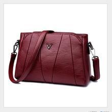 European autumn/winter fashion design women's women's single shoulder bag classic pure color slant bag quality leather bag 102