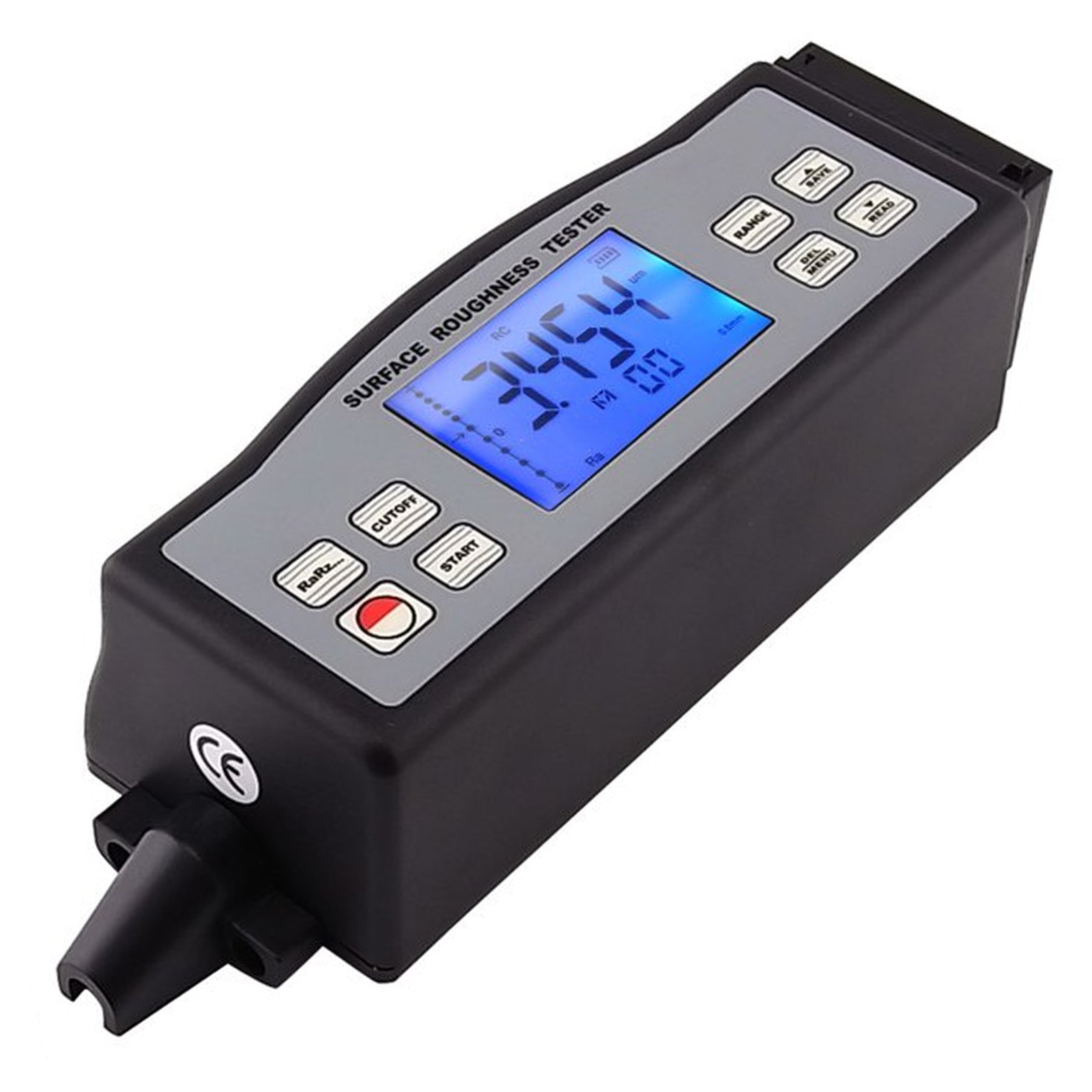 4 Parameters Digital Surface Roughness Tester (Ra, Rz, Rq, Rt) With Built-in Diamond Pin Probe