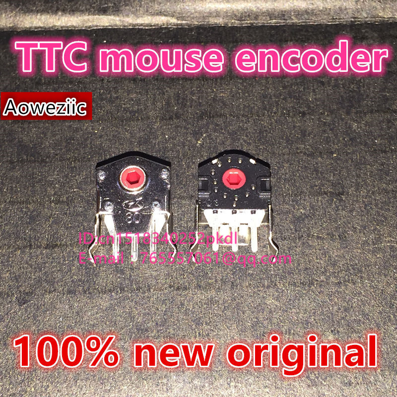 (10PCS) TTC mouse encoder can replace the Viper 2013 feel comfortable and high life decoder 8mm red core