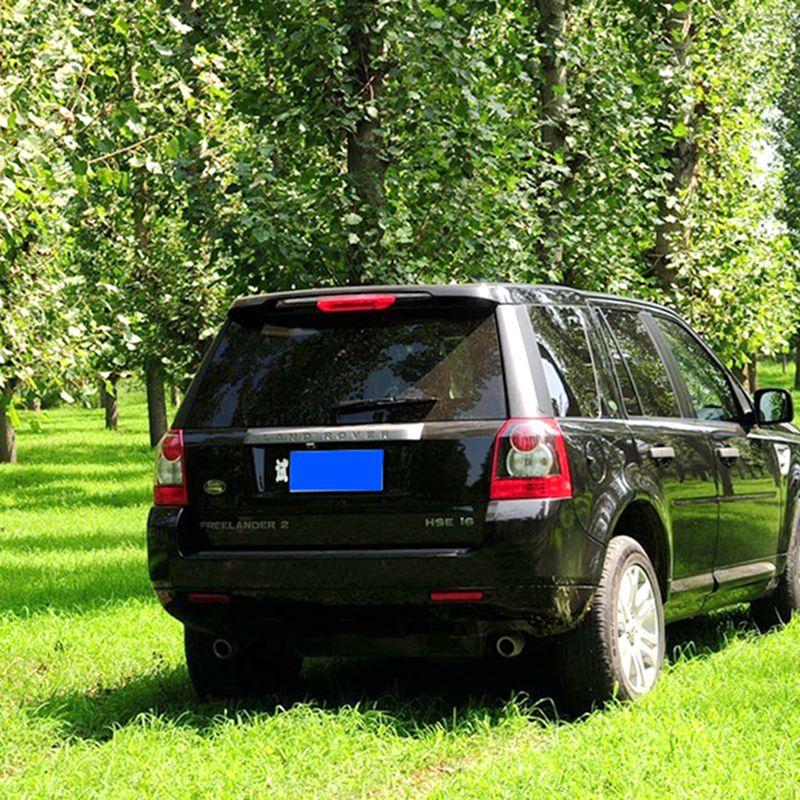 For Freelander 2 Spoiler ABS Material Car Rear Wing Primer Color Rear Spoiler For Land Rover Freelander 2 Spoiler 2007-2014 дефлектор капота novline темный land rover freelander 2007 nld slrfre0712
