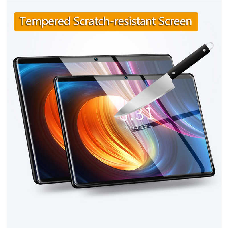 S119 de acero pantalla IPS tablet PC 3G Android 9,0 Octa Core Google Play los niños tablette enfant 6GB RAM 64GB ROM WiFi GPS 10 fnf