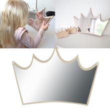 Mirror Crown Nordic Various Styles Children Safety Mirror Creative Home Decoration Crafts for Baby