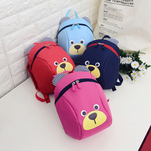 Cute Cartoon Bear Backpack Toddler Kids Children Kindergarten Shoulder Bag