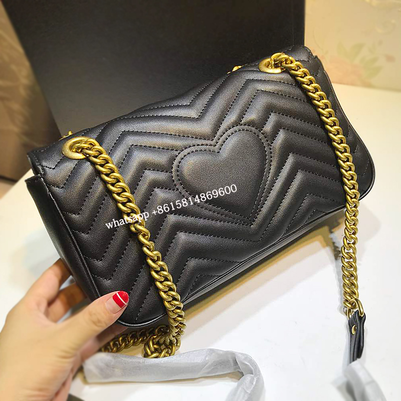 Real leather luxury Women Bag Brand Crossbody Bag Fashion Bag Female Split Leather Women Shoulder Bag 2018 New Style Handbag GG safebet brand 2018 new fashion cool style real leather handbag wholesale oil wax leather slanting shoulder bag women s handbag