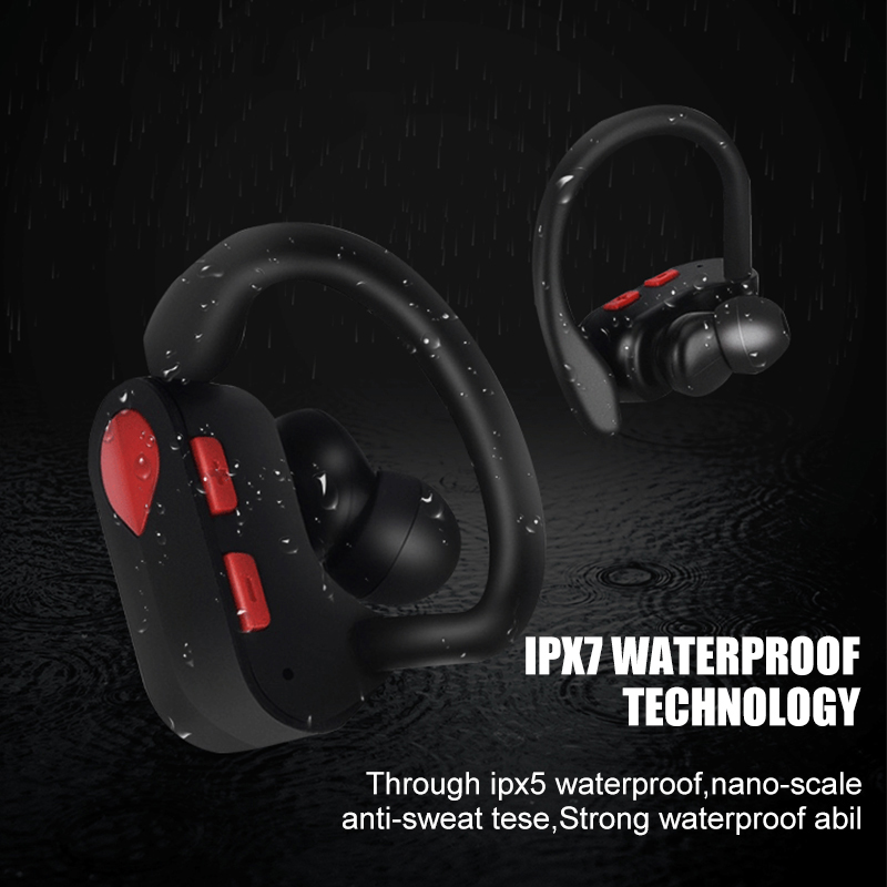 Wireless Headphones Sport Bluetooth Earphone Mini TWS Bluetooth 5 0 Headsets Android With Mic Earphones For Phone PK i10 tws in Phone Earphones Headphones from Consumer Electronics