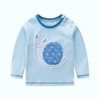 Invierno de los niños de la camiseta muchachas del muchacho del niño de manga larga tops camiseta ropa de las muchachas t shirt ropa de bebé camisas sudadera para niños