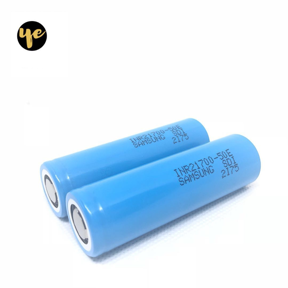 battery for 21700 50e 5000mah 15a battery for electric cigarette and screwdriver tool battery 21700 pack