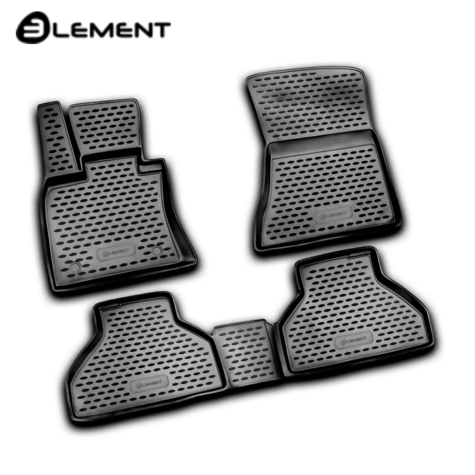 For BMW X5 E70 2007-2013 floor mats into saloon 4 pcs/set Element NLC0517210 fast shipping 2pcs set led marker angel eyes kit for bmw e90 saloon e91 touring no canbus error