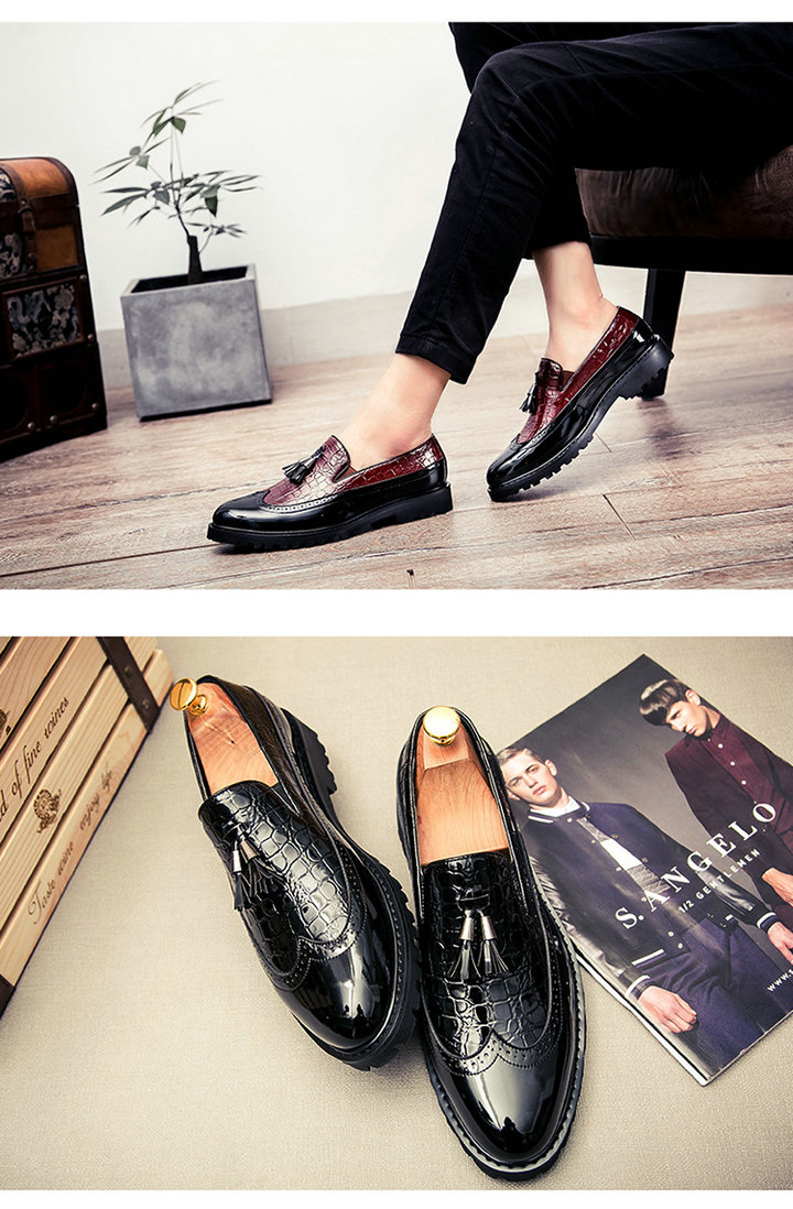 UTB8yAtbe IXKJkSalUq6yBzVXaz Men Casual shoes breathable Leather Loafers Office Shoes For Men Driving Moccasins Comfortable Slip on Fashion Shoes MA-23