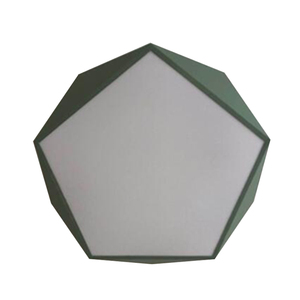 Image 5 - Пятиугольный потолочный светильник макарон, акриловый светодиодный светильник для гостиной, спальни, ресторана, детской комнаты, скандинавского домашнего освещения
