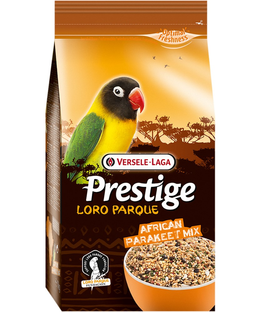 Birds food VERSELE-LAGA feed for medium parrots Prestige PREMIUM African Parakeet Loro Parque Mix 1kg free shipping 12 pieces set birds toy model dove parrots toucan seagull crane eagle egret plastic flying animals mini figures