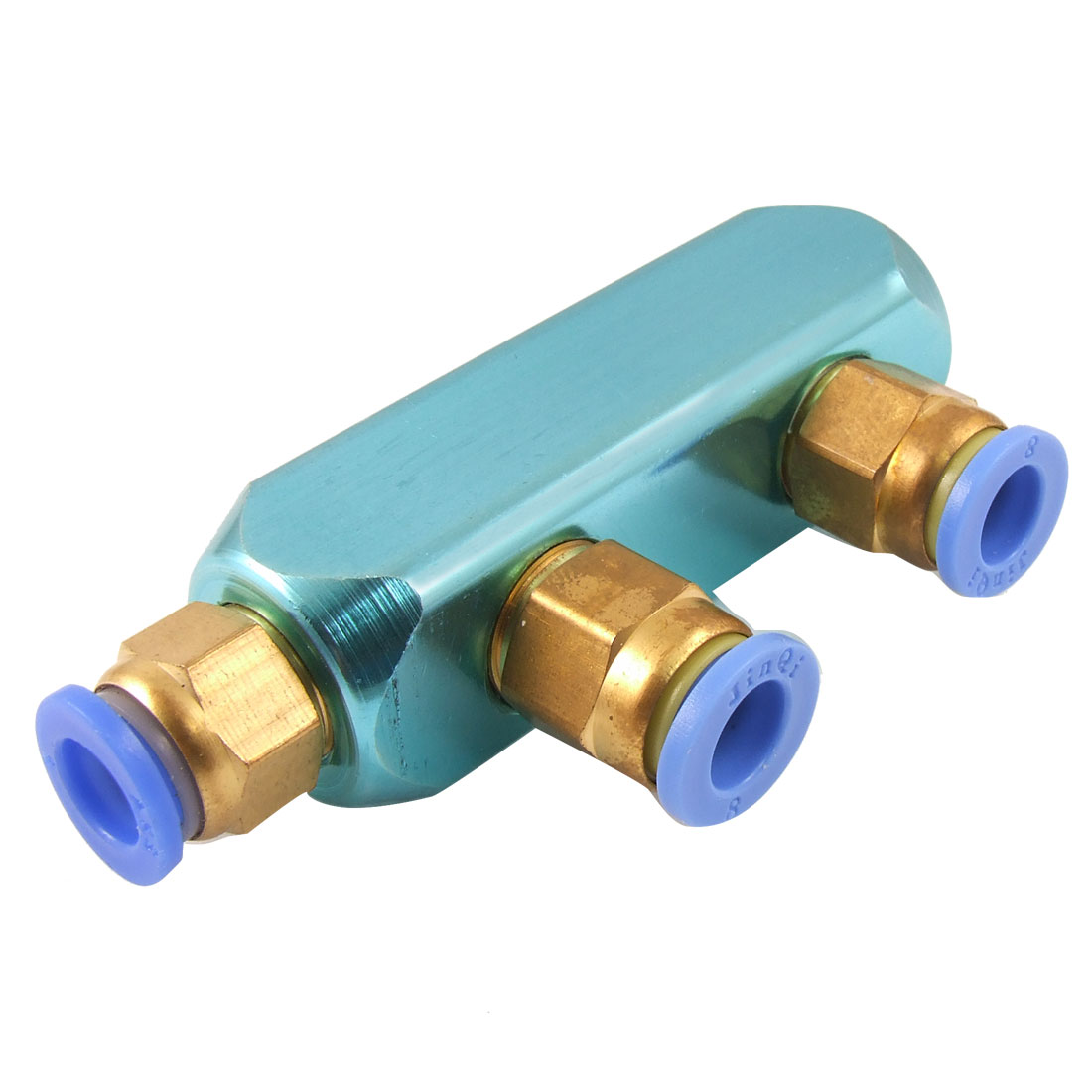 UXCELL 8Mm Pneumatic Air Hose Piping 3 Way One Touch Fittings Quick Coupler l duchen d 721 46 33 page 1