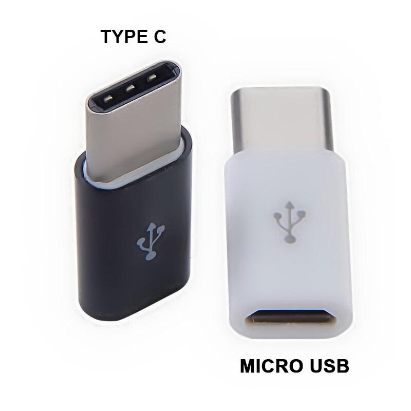 Mini Type C к Micro USB конвертер Type-c адаптер Android смартфон Джек сплиттер Совместимость зарядки передачи данных для телефона