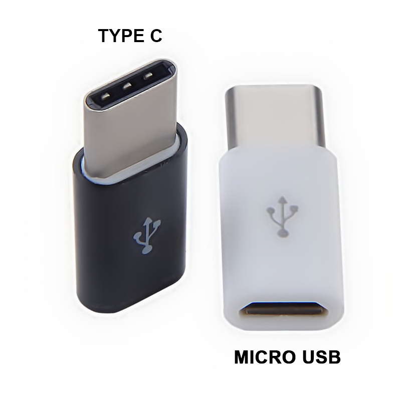 Mini Type C To Micro USB Converter Type-c Adapter Android Smartphone Jack Splitter Compatible Charge Data Transmission For Phone