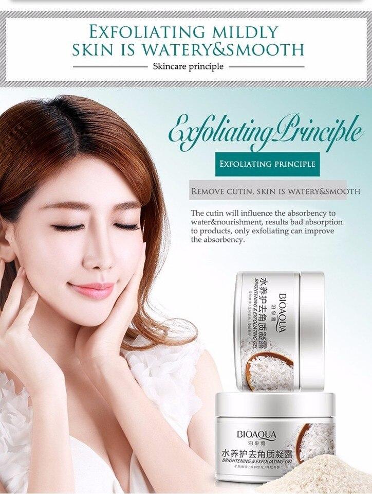 Bioaqua Moist Exfoliator Gel Clean Pore Acne Removal Fresh Skin