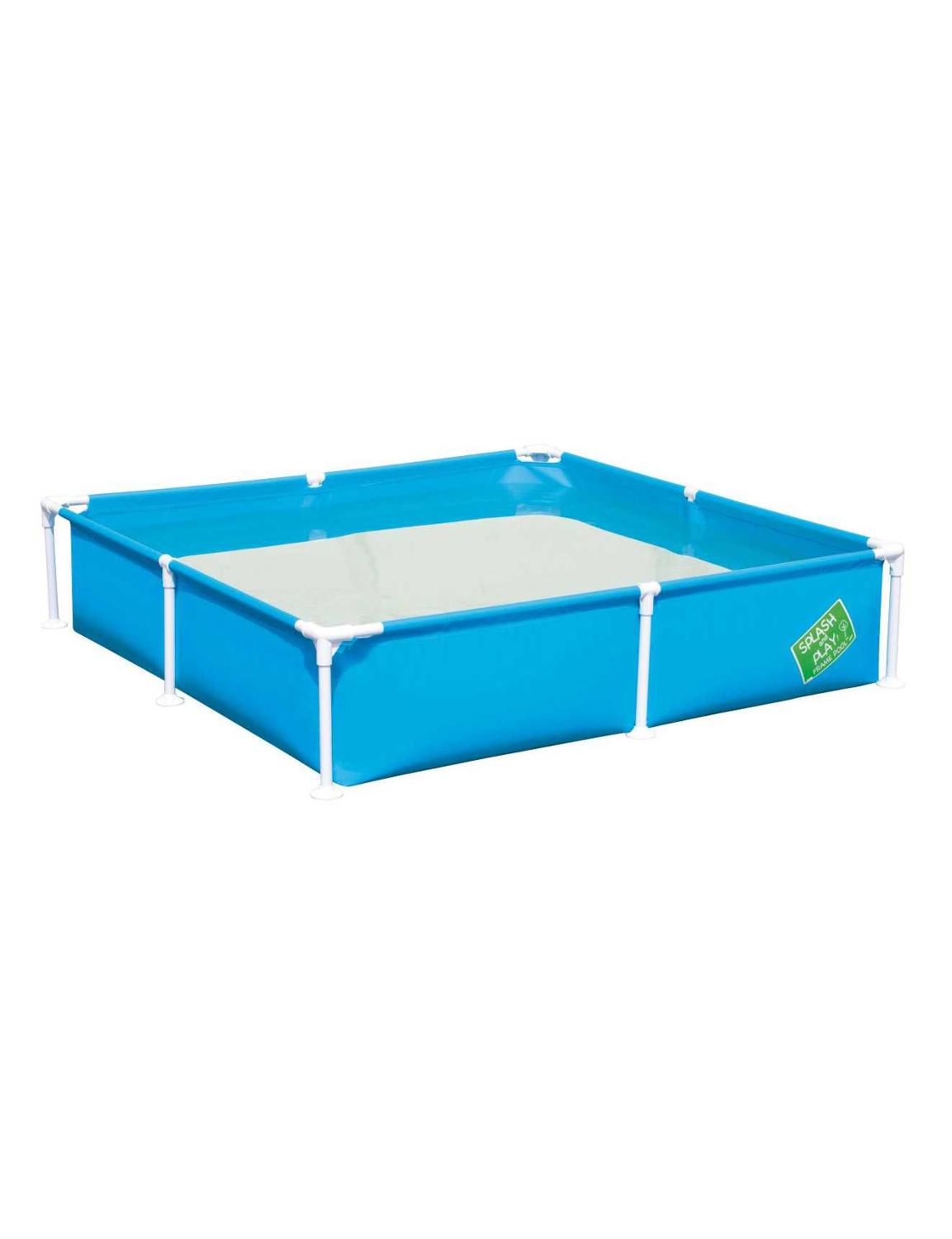 Children's Pool Scaffold Square Summer For Garden Leisure Children 163x163x35,5 Cm, 771 L, Bestway, 3 Colors, Item No. 56218