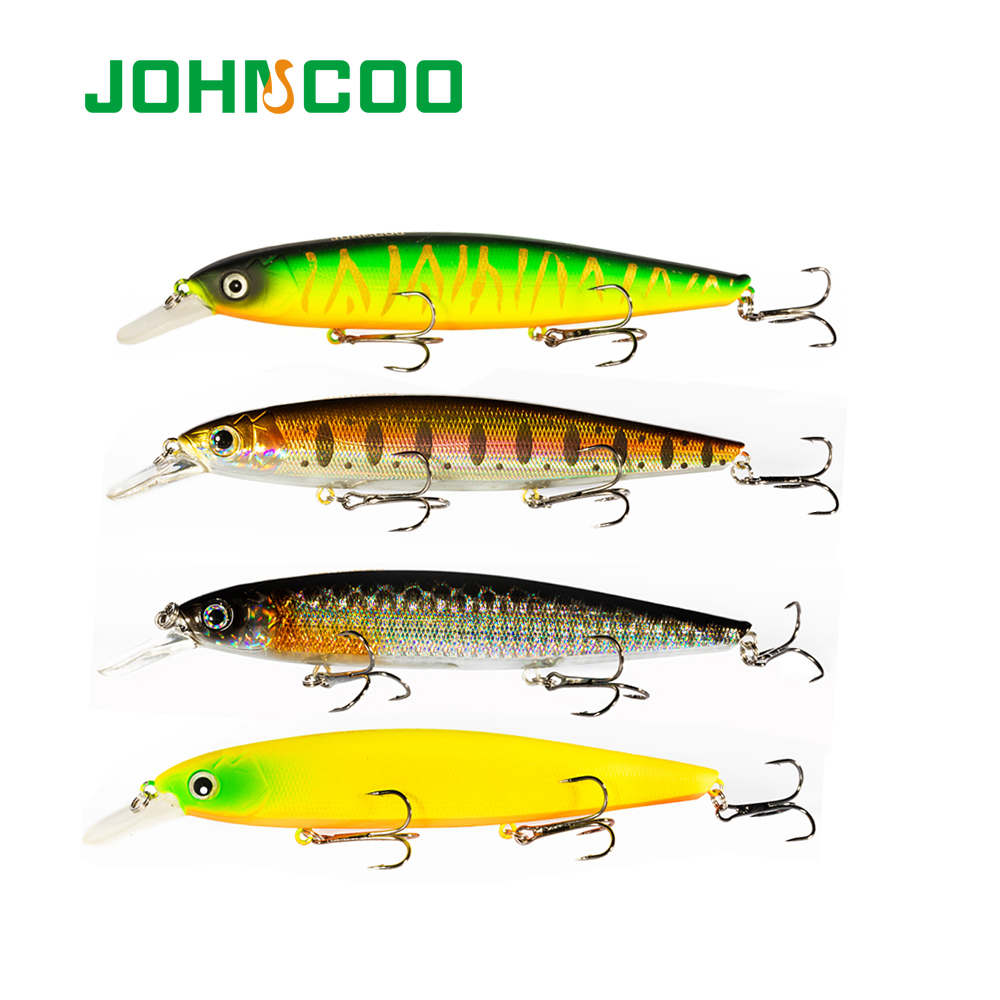 JOHNCOO Balisong 130SP Minnow Hard Fishing Lure 130mm 25g Wobbler with Sharp Treble Hooks Hard Baits Fishing Lure High Quality