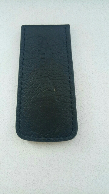 KUDIAN BEAR Slim Leather Money Clips Magnet Men Wallet Travel Purses Vintage Clips For Money Carteras Hombre– BID147 PM30 photo review