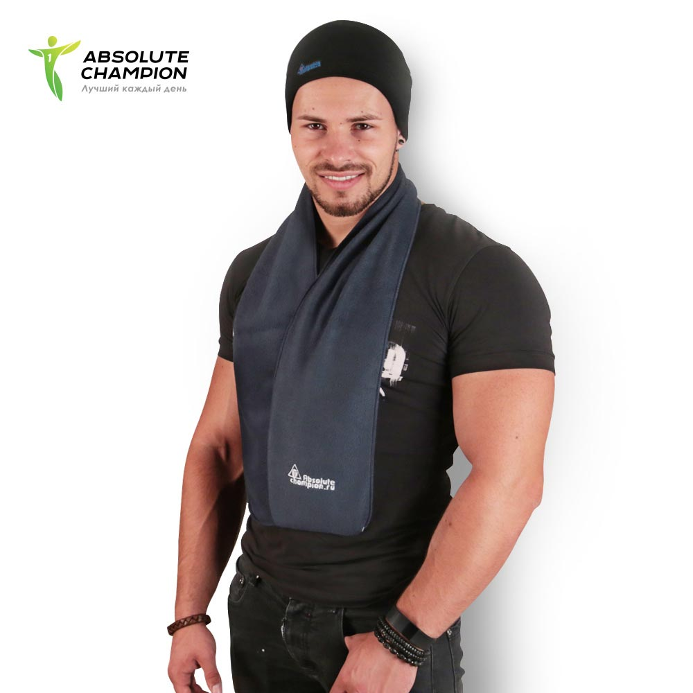 Cap scarf fleece winter for men and women Absolute Champion