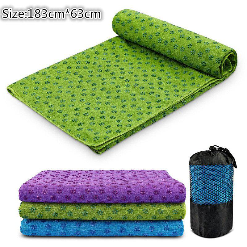 Sport Absorbent Soft Non Slip Yoga Mat Cover Towel Anti