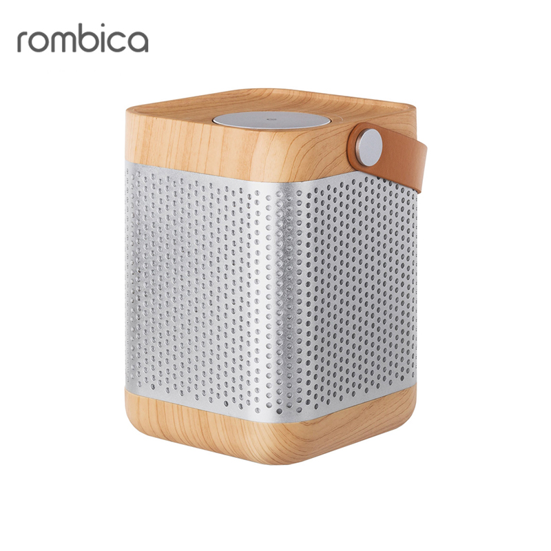 Bluetooth speaker Rombica MySound BT-20 portable speakers wireless bluetooth speakers led metal steel mini portable speaker smart hands free speaker with fm radio sd card support