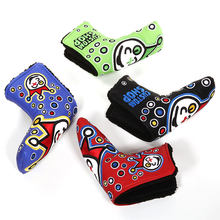 Golf Head Covers PU Numbers Club Accessories Golf Putter Cover Headcover for Blade Golf Putter Golf Club Head Covers Accessory(China)