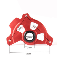 RACING PARTS Motorcycle Front Brake Disc Rotor Guard Cover Protector For CR125 CR250 04-07 05 06 CRF250R CRF450R 04-16 цена и фото