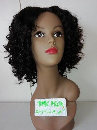 Brazilian Deep Wave Hair 3/4 Bundles With Closure Curly Hair Human Hair Bundles With Closure Middle Part Remy Hair Extensions