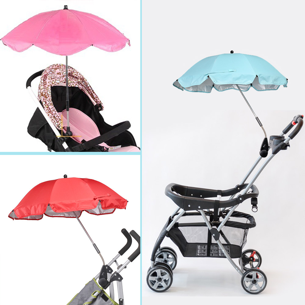 Light-Ren Baby Stroller Sun Shade Baby Anti-UV Cloth Ray-Shade Stroller Cover Windproof Rainproof Sun Protection Umbrella Awning Shelter Universal Accessories