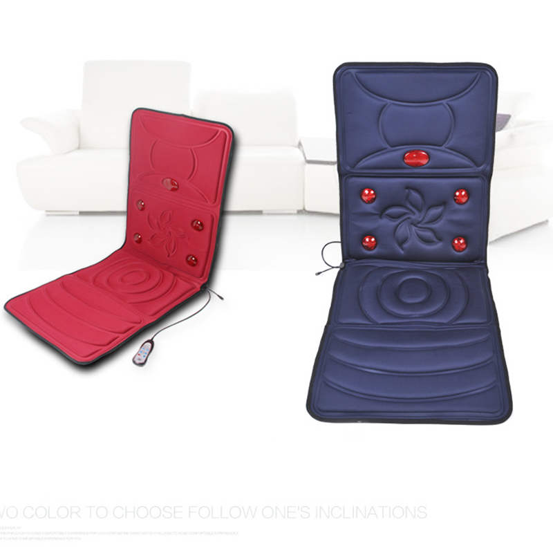 folding chair for massage cushion fishing bed angelruila far infrared heated back electric seat auto home office heat vibrate neck in relaxation from