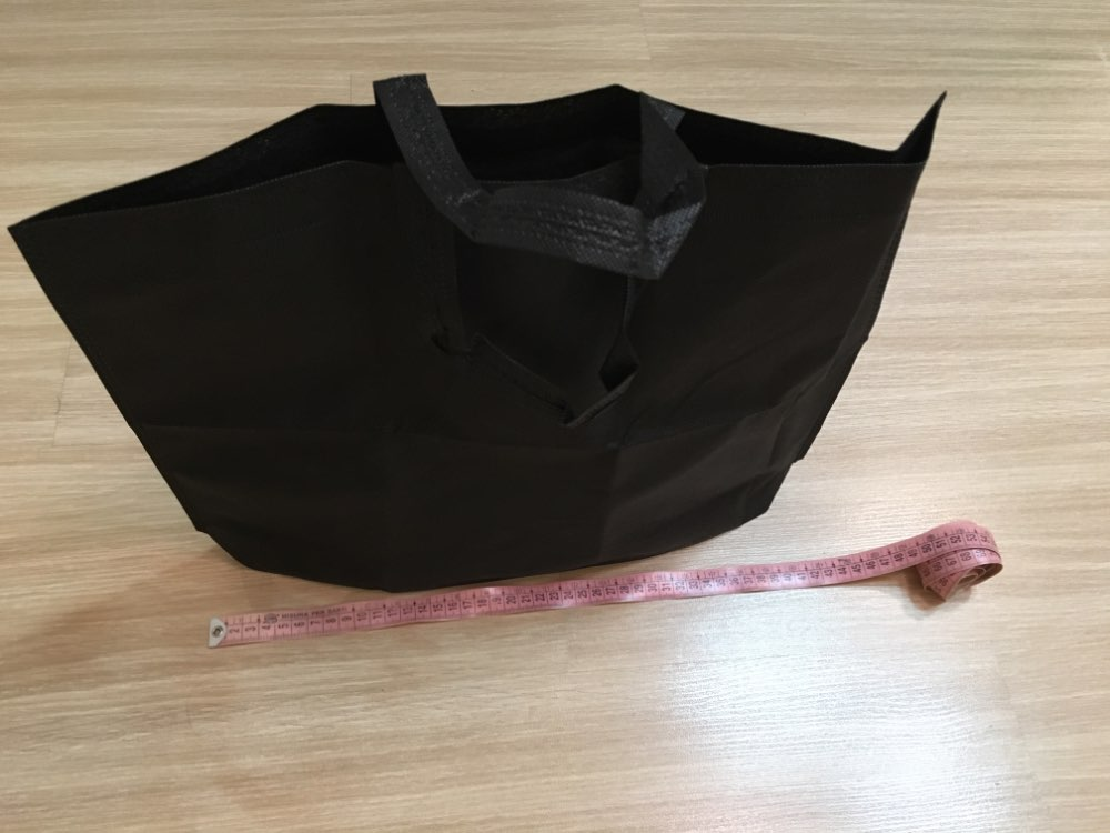 Foldable Storage Bag Nonwoven Shopping Bags Reusable Grocery Bag  Hand Totes Fashion Shopping Organizer photo review