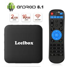 цена на TV Box Android 8.1 tv box Leelbox Smart TV Box Q2MINIS Amlogic S905W Quad-Core, 2GB RAM & 16GB ROM,4K Ultra HD, 2.4GHz WiFi