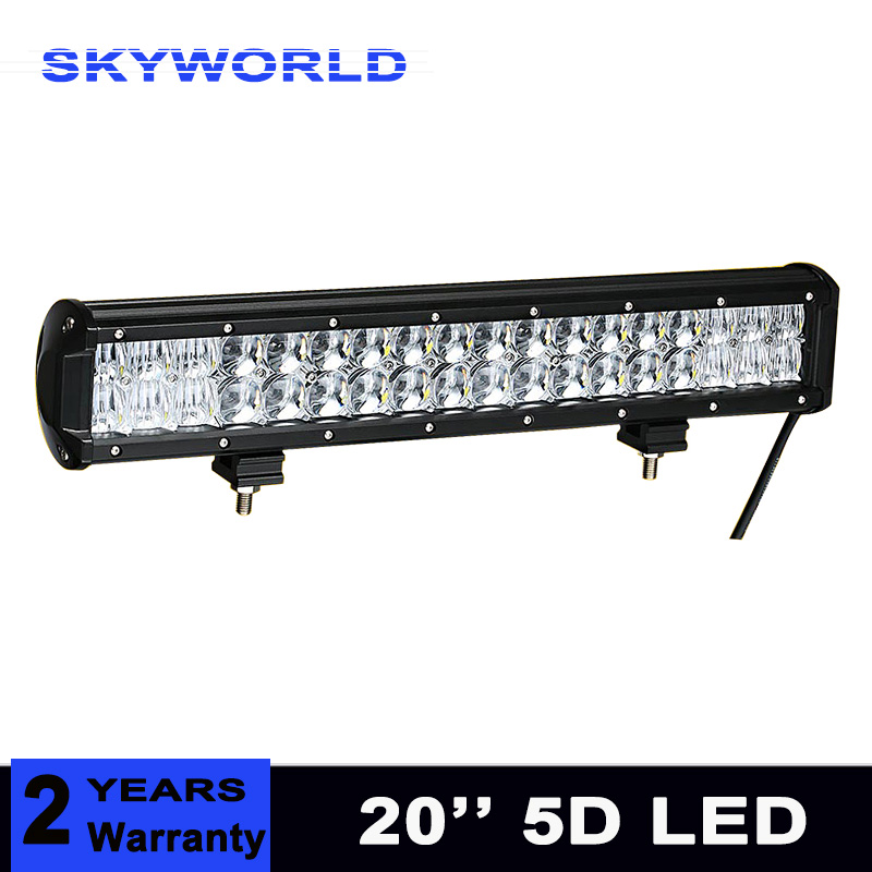 5D LENS 210W 20 inch LED Light Bar Offroad Boat Car Tractor Truck 4x4 SUV ATV Driving LED Work Light Combo Beam sufemotec 5d 210w 240w led work light bar led driving fog lamp combo led bar for car tractor boat offroad 4wd 4x4 truck atv suv