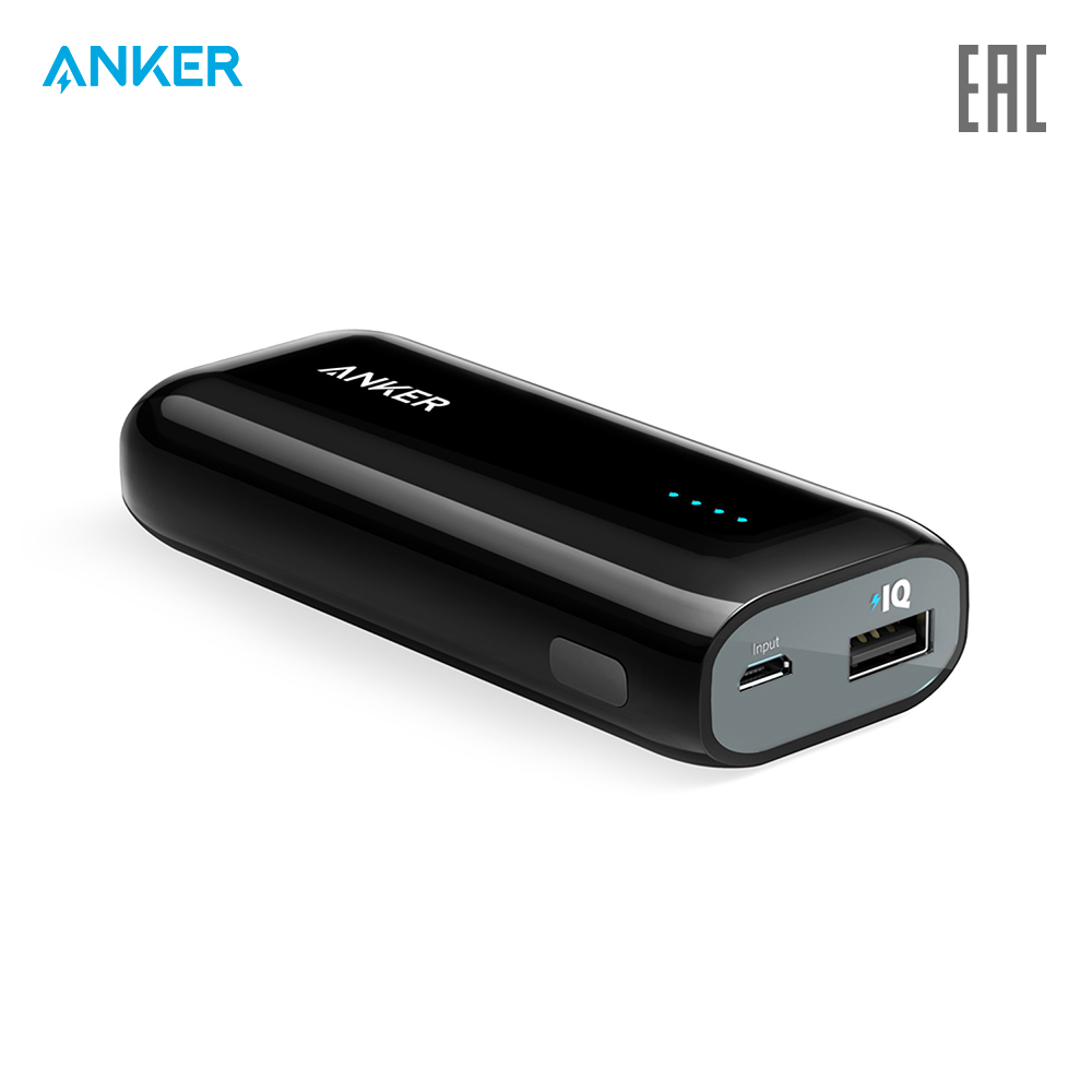 External Battery Pack Anker A1211 charging device charger quick charge 5v 3200mah external charging battery usb cable for samsung i9500 i9300 n7100 silver