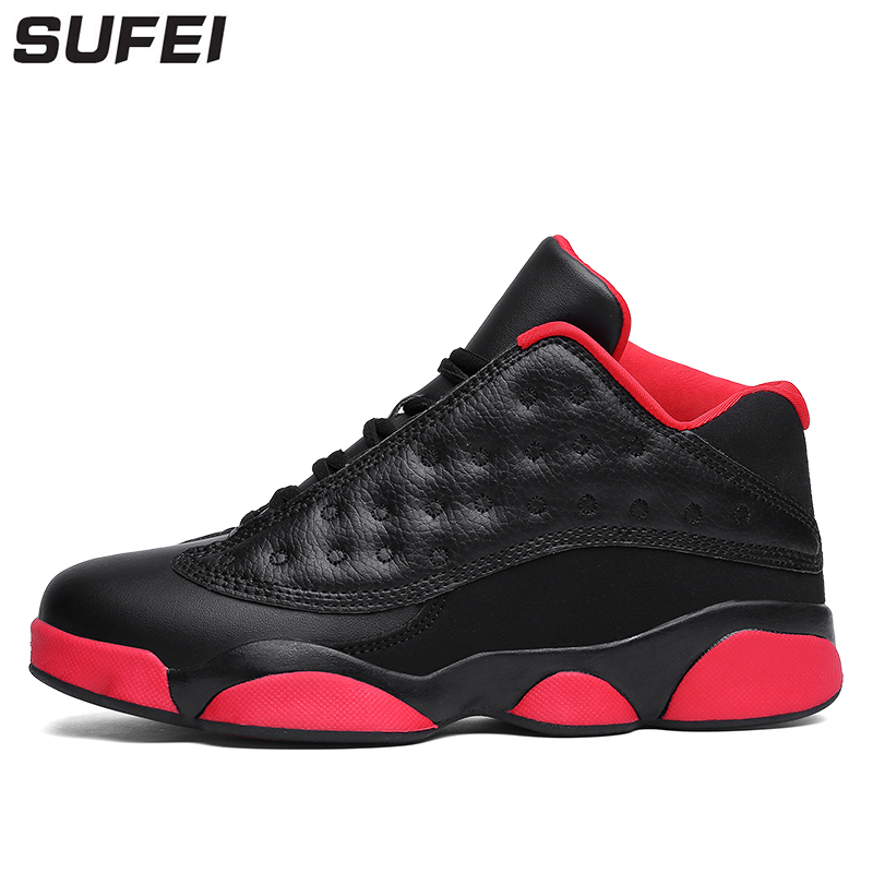 все цены на New Arrival Men Basketball Shoes Shock Absorbing Breathable Ankle High Outdoor Sneakers Athletic Cushioning Sport Boots онлайн