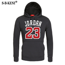 2018 Brand New Fashion JORDAN 23 Men Hooded Sweatshirts Print Mens Hoodies Pullover Loose Sweatshirt Tracksuit Clothing Male