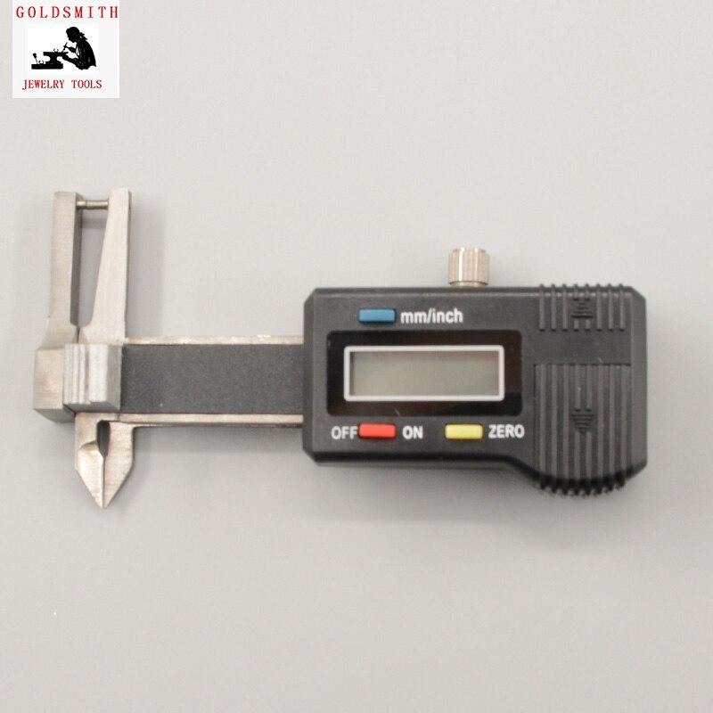 0-25mm Digital Diamond Gem pocket Gauge Minitype three-purpose digital caliper thickness caliper guage measure thickness Tool