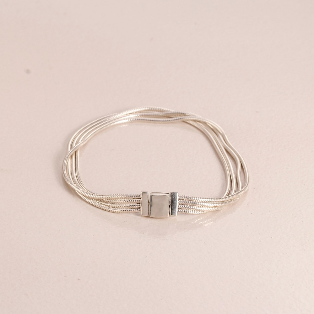 2019 Spring High Quality 100% 925 Sterling Silver Luxury Reflexion Bracelet Fit DIY European Charm for Women Fashion Jewelry