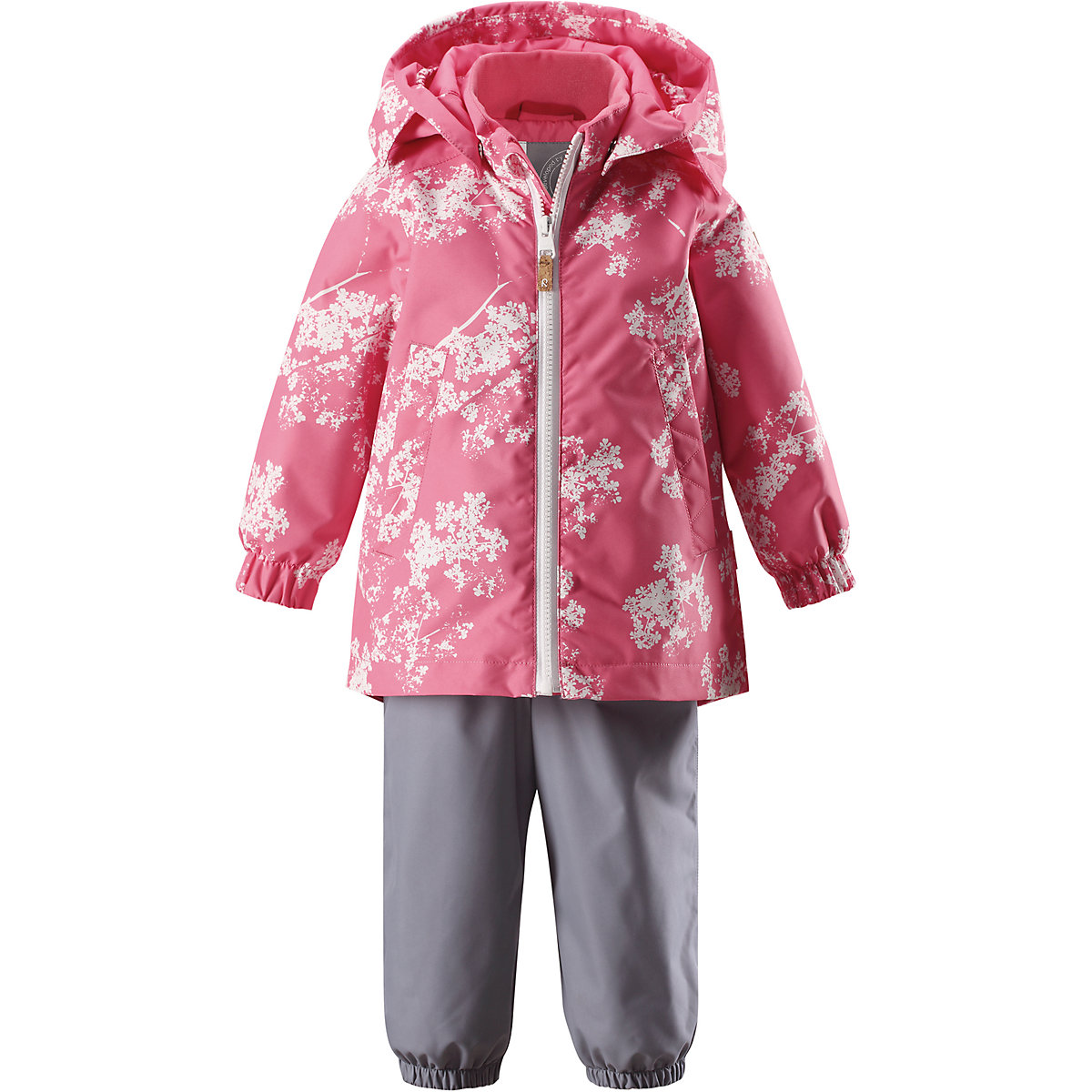Baby's Sets Reima for girls 7636696 Suit Clothes Baby Kids Clothing Boy Girl Stuff clothing set 2017 spring girls clothes jacket floral zipper kids hoodies pants kids tracksuit for girls clothing sets sport suit