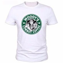 WOODY Toy Story Swag Top Tees Man Road Sign t shirt Summer Clothing Men T Shirts O Neck Tops Short Sleeve T-shirt Male