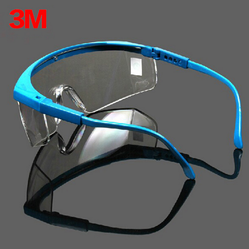 3M 1711 Safety Glasses Goggles Anti-wind Anti sand Anti Dust Resistant Transparent Glasses Work Bicyle Labor protective eyewear 3m 1711 safety protective glasses anti shock windproof anti uv lightweight riding eyewear goggles g2305
