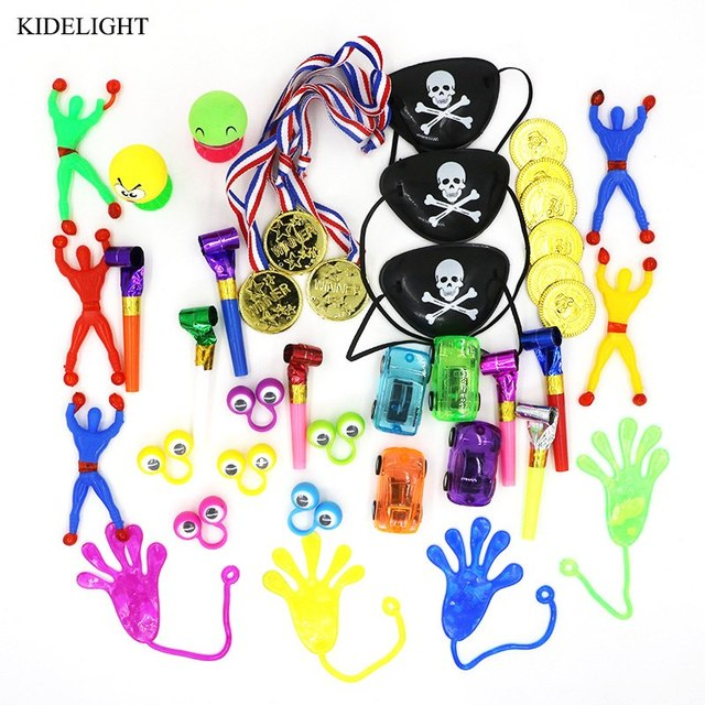 40pcs Kids Happy Birthday Party Gift Girl Boy Favors Pinata Fillers