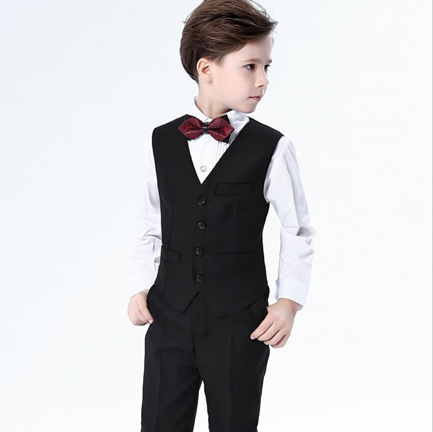Boys blazers kids Boys suits for weddings Prom Suits Wedding Dress for Boys Kids tuexdo Children Clothing Set Spring Autumn Show